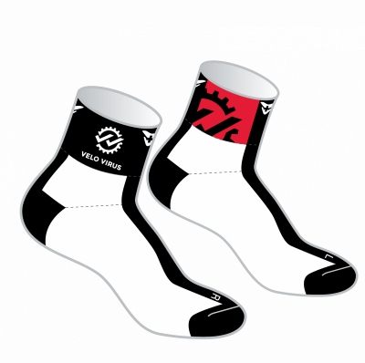 Virus Team  Socken IP Design Velo Virus
