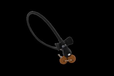 Kabelschloss DOG schwarz